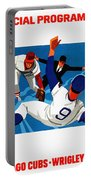 Chicago Cubs 1974 Program Portable Battery Charger