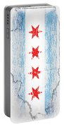 Chicago Flag Portable Battery Charger