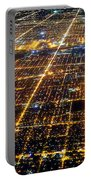 Chicago From Above 2 Portable Battery Charger