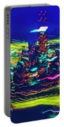 Chicago Gold Coast Abstract Portable Battery Charger
