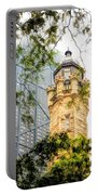 Chicago Historic Water Tower Fog Portable Battery Charger