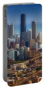 Chicago Looking East 01 Portable Battery Charger