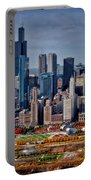 Chicago Looking West 02 Portable Battery Charger