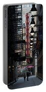 Chicago Loop, Goodman Theater Marguee Portable Battery Charger