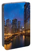 Chicago River Lights Portable Battery Charger