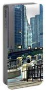 Chicago River Walk Invites You Portable Battery Charger