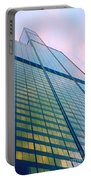 Chicago Sears Willis Tower Pop Art Portable Battery Charger