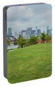 Chicago Skyline From The Southside Portable Battery Charger