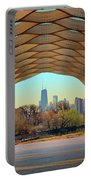 Chicago Skyline - South Pond Pavilion Portable Battery Charger