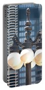 Chicago Street Lamps Portable Battery Charger