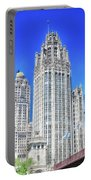 Chicago The Gothic Tribune Tower Portable Battery Charger