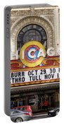 Chicago Theater Marquee Jethro Tull Signage Portable Battery Charger