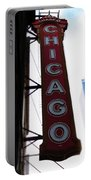 Chicago Theater Sign Portable Battery Charger