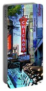 Chicago Theatre City Bikes Portable Battery Charger