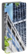Chicago Water Tower Place Facade And Signage Portable Battery Charger