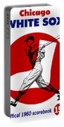 Chicago White Sox 1960 Scorebook Portable Battery Charger