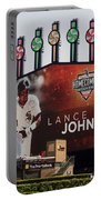 Chicago White Sox Lance Johnson Scoreboard Portable Battery Charger