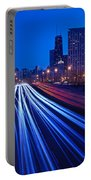Chicagos Lake Shore Drive Portable Battery Charger