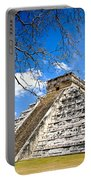 Chichen Itza And Tree Portable Battery Charger
