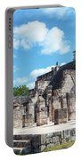 Chichen Itza Temple Of The Warriors Portable Battery Charger