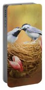 Chickadee Lunch Portable Battery Charger