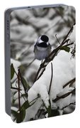 Chickadee On The Jasmine Portable Battery Charger