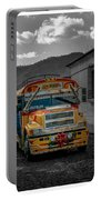 Chicken Bus - Antigua Guatemala Portable Battery Charger