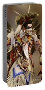 Pow Wow Chicken Dancer 12 Portable Battery Charger