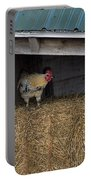 Chicken In Barn Portable Battery Charger