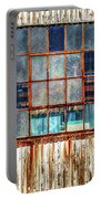 Chicken Wire Window Portable Battery Charger