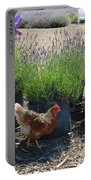 Chicken With Lavender  Portable Battery Charger
