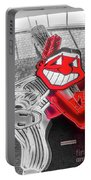 Chief Wahoo Sluggin Portable Battery Charger