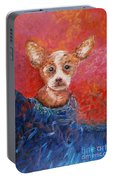 Chihuahua Blues Portable Battery Charger