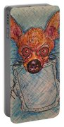 Chihuahua In A Pocket Portable Battery Charger