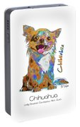 Chihuahua Pop Art Portable Battery Charger