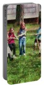 Children - Tug Of War  Portable Battery Charger