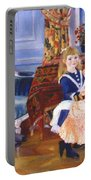 Children Afternoon At Wargemont Marguerite 1884 Portable Battery Charger