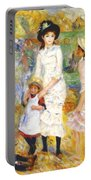 Children On The Seashore 1883 Portable Battery Charger