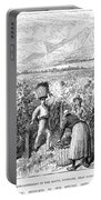 Chile: Wine Harvest, 1889 Portable Battery Charger
