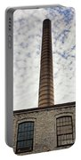 Chimney Of An Old Factory Portable Battery Charger