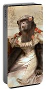 Chimp In Gown  Portable Battery Charger