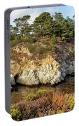 China Cove, Point Lobos Portable Battery Charger by Yair Karelic