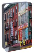 China Town Buildings Portable Battery Charger