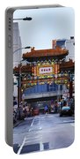 Chinatown - Philadelphia Portable Battery Charger by Bill Cannon