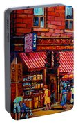 Chinatown Montreal Portable Battery Charger