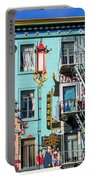 Chinatown Mural On Broadway Portable Battery Charger