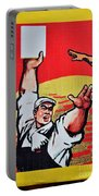 Chinese Communist Party Workers Proletariat Propaganda Poster Portable Battery Charger