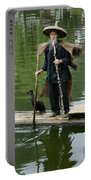 Chinese Cormorant Fisherman Portable Battery Charger