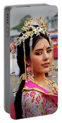 Chinese Cultural Fashion Girl Portable Battery Charger