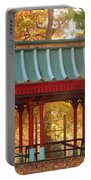 Chinese Pavillion In Tower Grove Park Portable Battery Charger